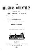 Illustration de la page Franz Cumont (1868-1947) provenant de Wikipedia