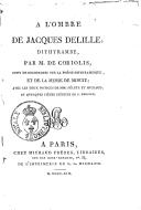 Illustration de la page Charles Louis Alexandre Coriolis d'Espinouse (1770?-1841) provenant de Wikipedia