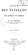 Illustration de la page Pierre de Croos (1838-1885) provenant de Wikipedia