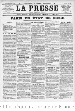 La Presse (Paris. 1836)