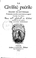 Illustration de la page De civilitate morum puerilium provenant de Wikipedia