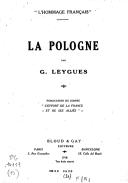 La Pologne  G. Leygues.1918