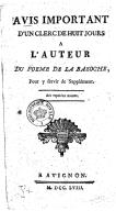 Illustration de la page Un Clerc de huit jours provenant de Wikipedia