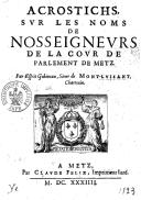 Illustration de la page Esprit Gobineau de Montluisant (1590?-16..) provenant de Wikipedia