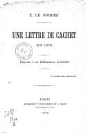 Illustration de la page Ernest Le Nordez (1839-1904) provenant de Wikipedia