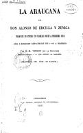 Image from Gallica about La Araucana