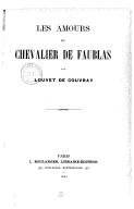 Illustration de la page Les amours du chevalier de Faublas provenant de Wikipedia