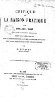 Image from Gallica about Kritik der praktischen Vernunft