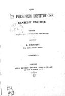 Bildung aus Gallica über Antoine Benoist (1846-1922)