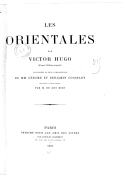 Image from Gallica about Les orientales
