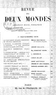 Visite au poète français. Revue des deux mondes  1918