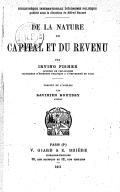 Illustration de la page The nature of capital and income provenant de Wikipedia