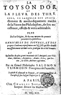 Illustration de la page Salomon Trismosin provenant de Wikipedia