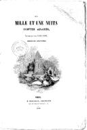 Les mille et une nuits : contes arabes, traduits par Galland, ornés de gravures  1846