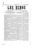 Les Echos / Les Echos de Damas. Journal bi-hebdomadaire <br> 1928-1931
