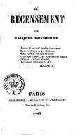 Illustration de la page Jacques Bonhomme (1811-1871) provenant de Wikipedia
