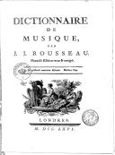 Illustration de la page Dictionnaire de musique provenant de Wikipedia