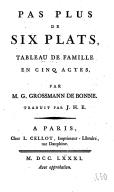 Illustration de la page Gustav Friedrich Wilhelm Grossmann (1743-1796) provenant de Wikipedia