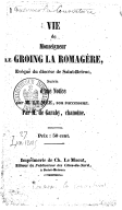 Illustration de la page Malo-Joseph de Garaby (1797-1855) provenant de Wikipedia