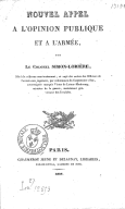 Illustration de la page Charles, Luc, Louis, Marie Simon-Lorière (1785-1866) provenant de Wikipedia