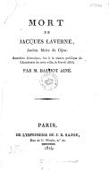 Illustration de la page Jacques Laverne (15..?-1594) provenant de Wikipedia