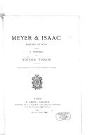 Meyer et Isaac : moeurs juives. 1888