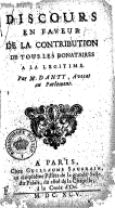 Illustration de la page N. Danty (avocat au Parlement de Paris, 165.-17..) provenant de Wikipedia