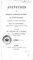 Aventures de Nicolas Doswiaczynski. 1818