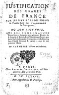 Bildung aus Gallica über Pierre Le Merre (1644-1728)