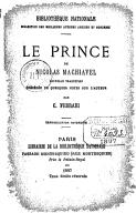Illustration de la page Il principe provenant de Wikipedia