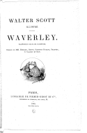 Image from Gallica about Waverley novels