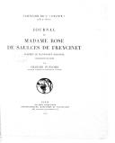 Journal de madame Rose de Saulces de Freycinet : campagne de l'Uranie  R. de Saulces de Freycinet. 1927