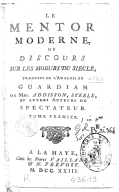 Image from Gallica about Richard Steele (1672-1729)