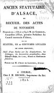 Bildung aus Gallica über Alsace