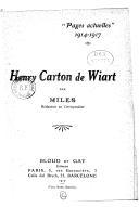 Illustration de la page Miles (1874-19..) provenant du document numerisé de Gallica