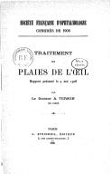 Image from Gallica about Société française d'ophtalmologie. Congrès (1908 ; Paris)