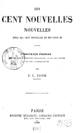 Image from Gallica about Cent nouvelles nouvelles