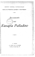Image from Gallica about Institut général psychologique