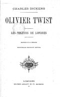 Illustration de la page Oliver Twist provenant de Wikipedia