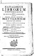 Image from Gallica about Veuve de Franz Wilhelm Joseph Metternich (imprimeur-libraire, 17..-18..)