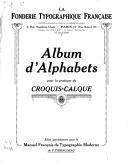 Illustration de la page Fonderie typographique française provenant de Wikipedia