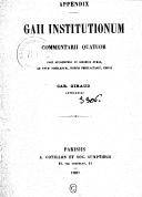 Illustration de la page Gaius (0117?-0180?) provenant de Wikipedia