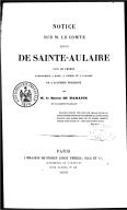 Illustration de la page Louis-Clair Beaupoil de Sainte-Aulaire (1778-1854) provenant de Wikipedia