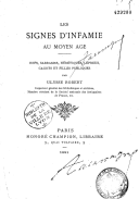 Image from Gallica about Infamie (droit romain)