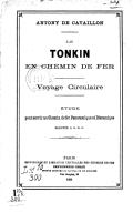 Etude pour servir au chemin de fer panoramique et dioramique A. de Cavaillon. 1888