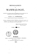 Image from Gallica about Mammifères