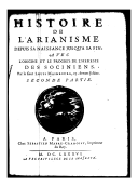 Image from Gallica about Arianisme
