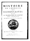 Image from Gallica about Iconoclasme