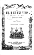 Image from Gallica about Mille et une nuits