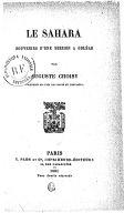 Image from Gallica about Algérie